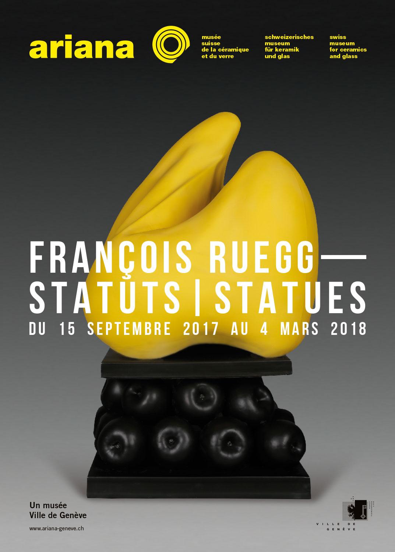 Affiche de François Ruegg - Statuts/statues