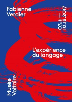 Affiche de Fabienne Verdier - L'expérience du langage