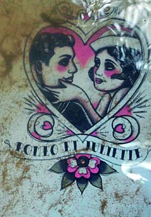 Affiche de Roméo et Juliette