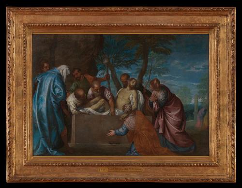 Affiche de La Mise au tombeau de Véronèse