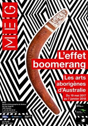 affiche de l'exposition L'effet boomerang