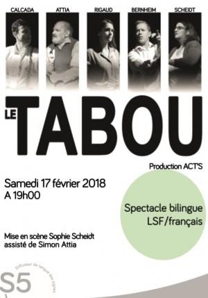 Affiche de Le Tabou