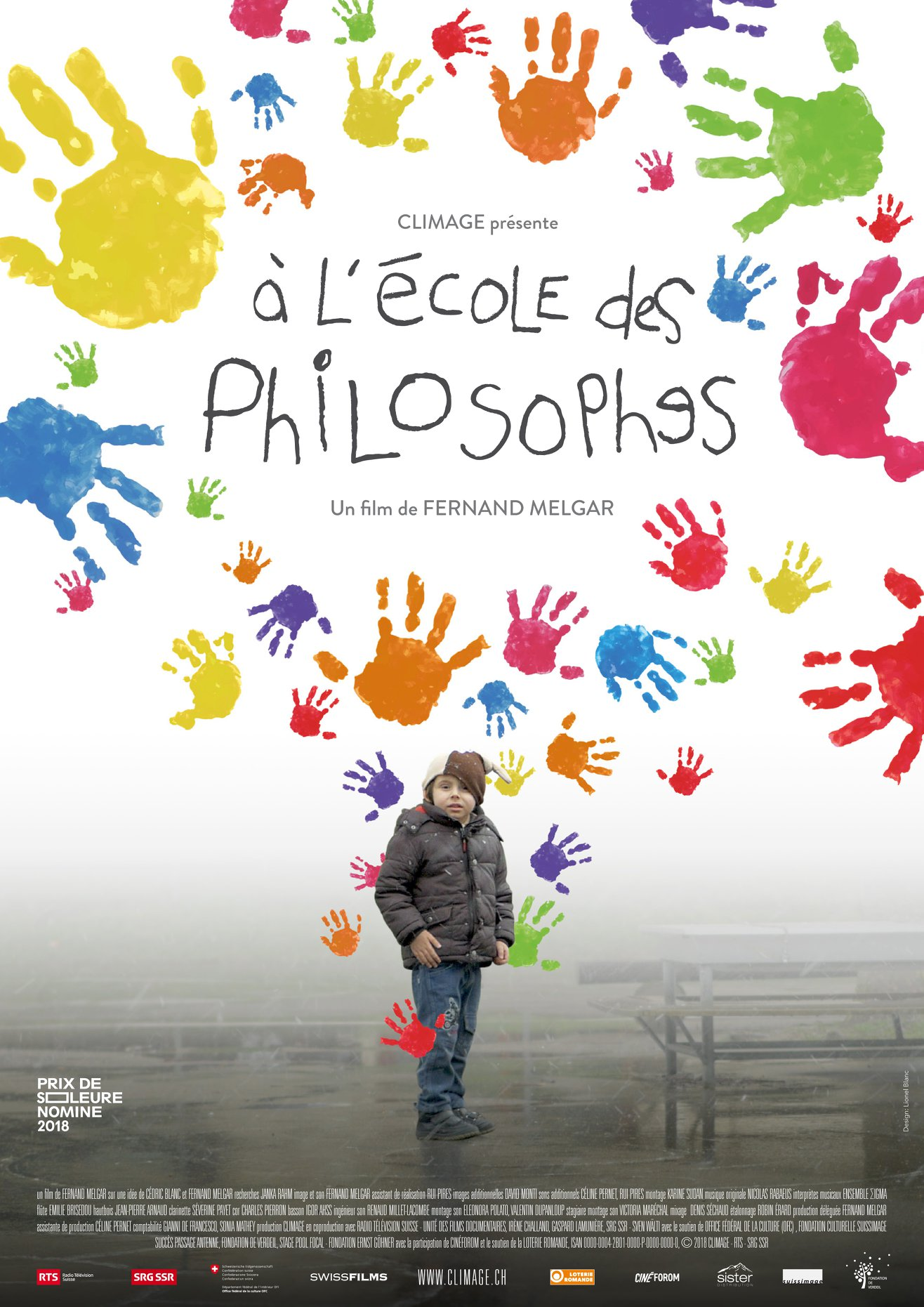 Affiche de À l'école des philosophes