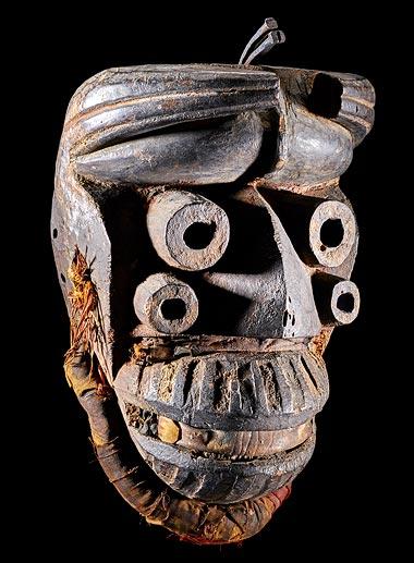 Affiche de Masques d'Afrique