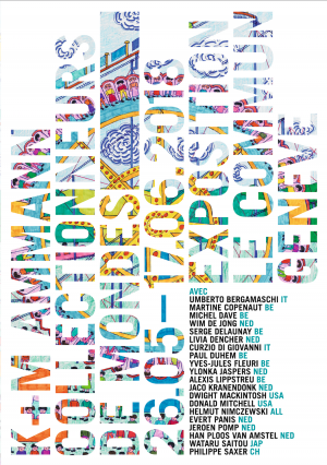 Affiche de Korine et Max E. Ammann - Collectionneurs de mondes