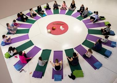 visuel pour l'événement Yoga en musique