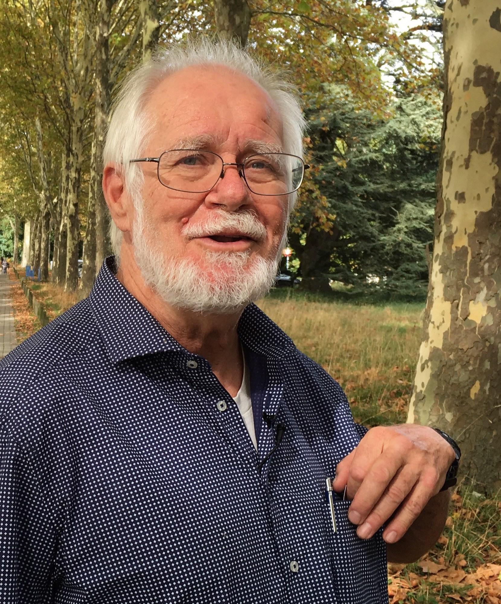 Affiche de Un auteur des voix avec Jacques Dubochet (prix Nobel de Chimie)