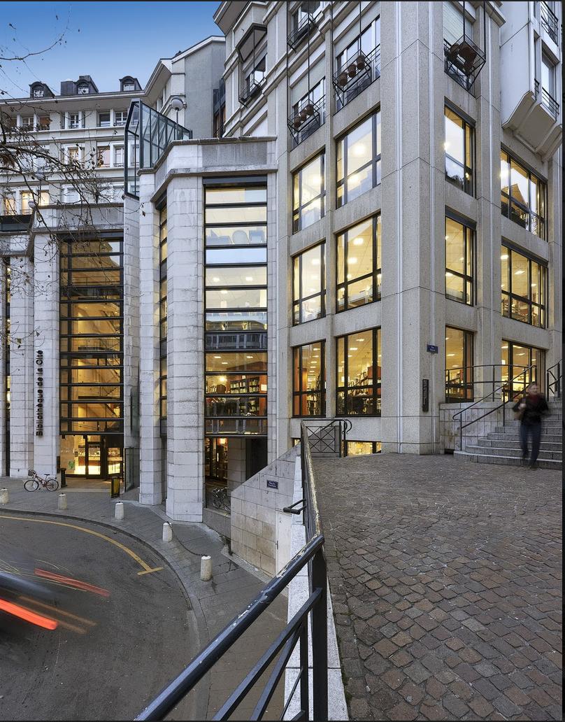 photo de la bibliothèque de la cité