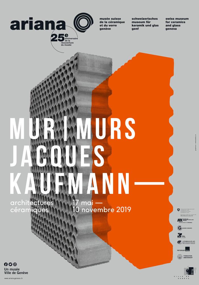 affiche de l'exposition Mur / Mur