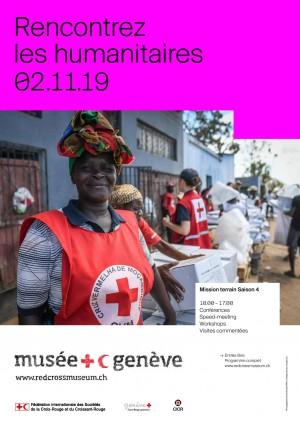 Affiche de Rencontrez les humanitaires