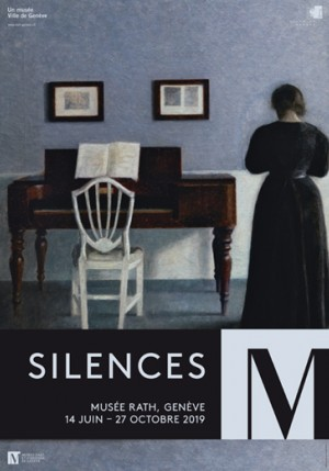 affiche de l'exposition Silences
