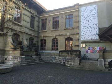 photo de la façade de la salle des eaux-vives