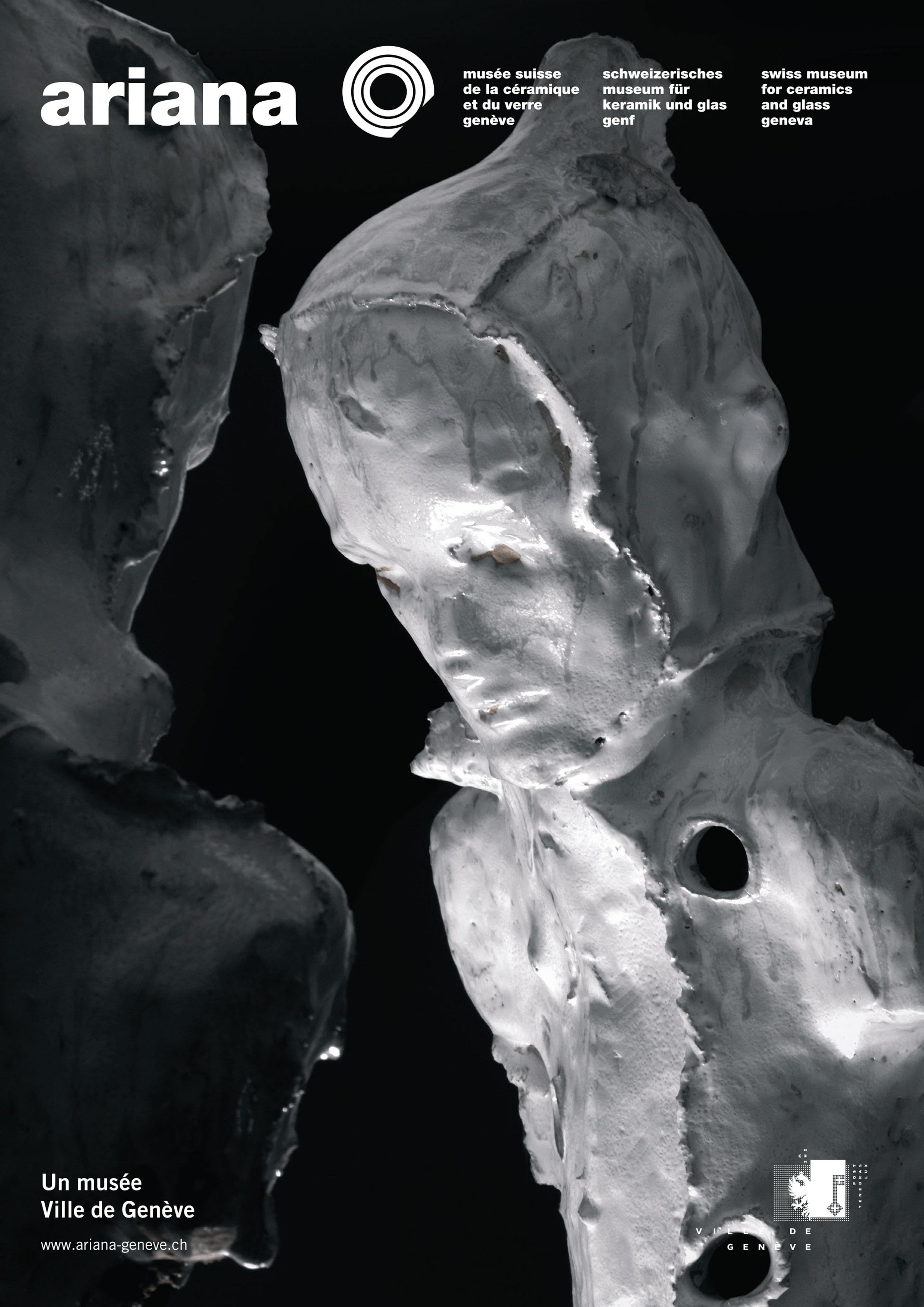 Affiche de l'exposition Refuge / Silence