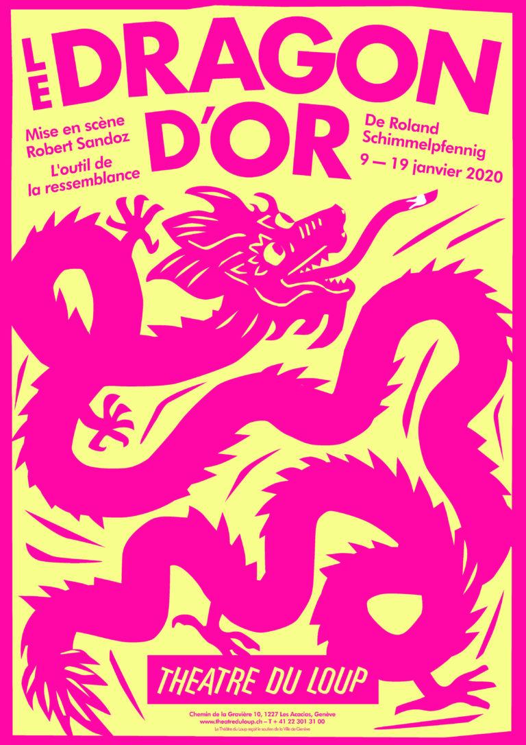 affiche du spectacle Le Dragon d'Or