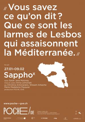 affiche du spectacle SapphoX