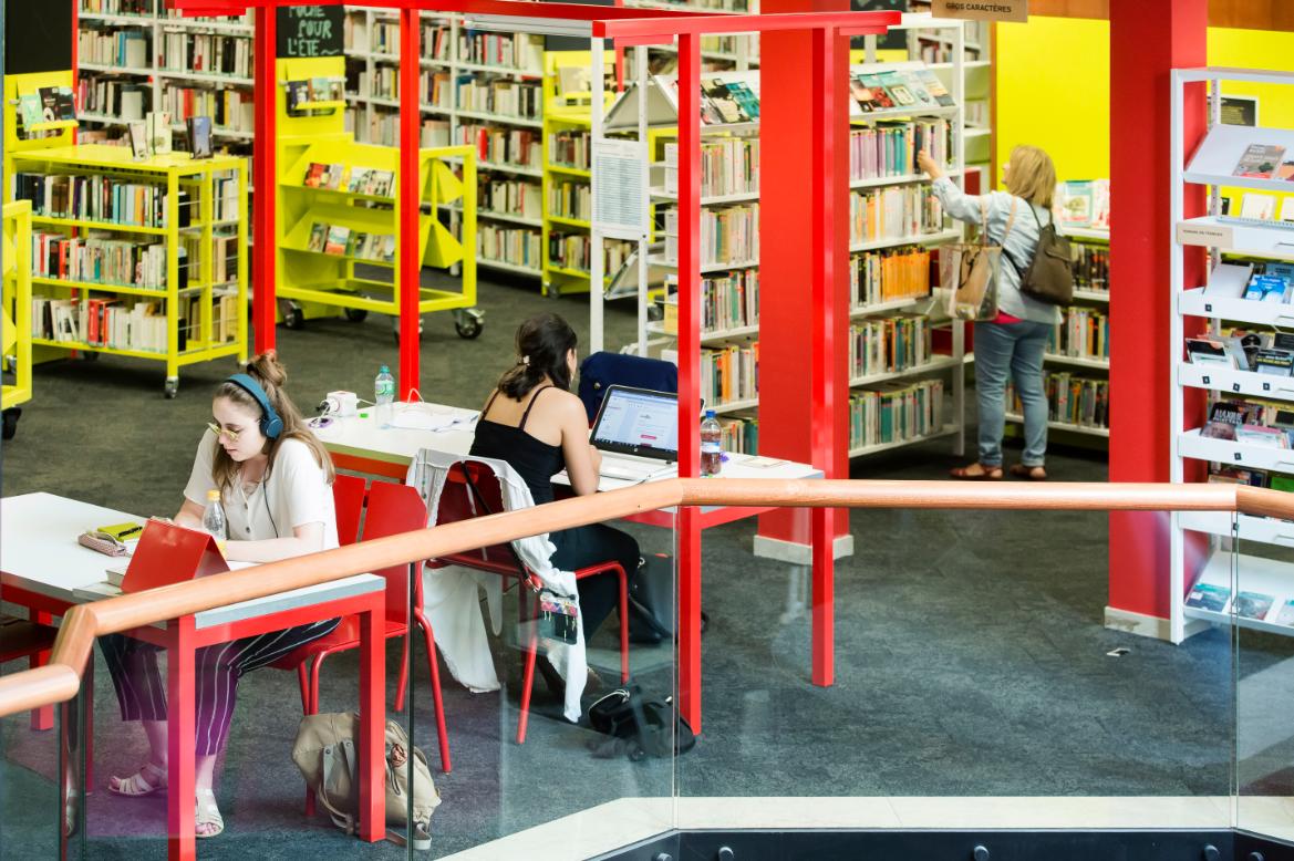 Photo de Bibliothèque municipale de la Cité