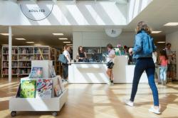 Photo de Bibliothèque des Minoteries