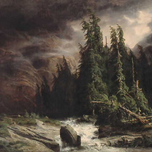 Affiche de Orage à la Handeck d'Alexandre Calame