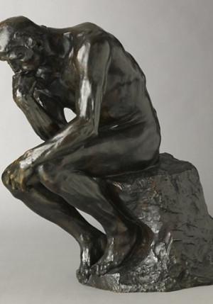 Affiche de Le penseur d'Auguste Rodin