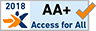 Accessibilité du site internet certifiée par Access for all